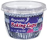 Reynolds Cupcake Liners/Muffin Cups/Baking Cups (Foil, 32 Count, Pack of 24)