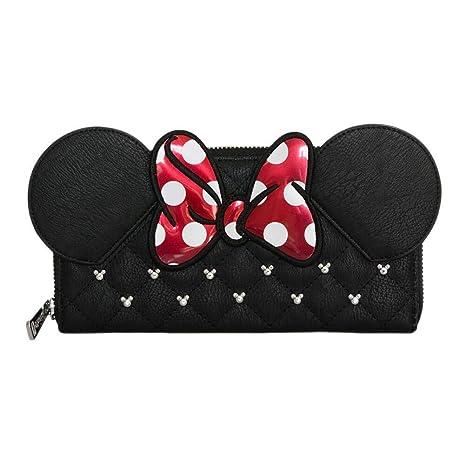 Monedero con Lazo Acolchado Minnie Mouse de Loungefly x ...