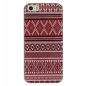 Joyous Folk Style Pattern PC Hard Back Cover Case for iPhone 5/5S