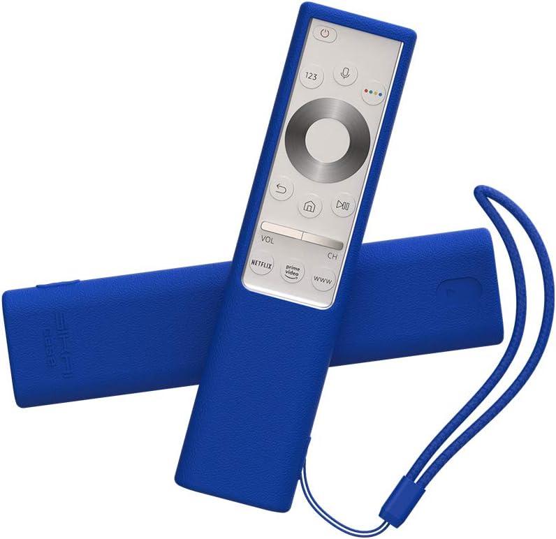SIKAI CASE Ajustado Adapta Mando Funda de Silicona Compatible con 2019 Samsung Q7 / Q8 / Q9 Remote BN59-01311G / BN59-01311B, Anti-caída Carcasa de Protección a Prueba de Golpes (Azul): Amazon.es: Electrónica