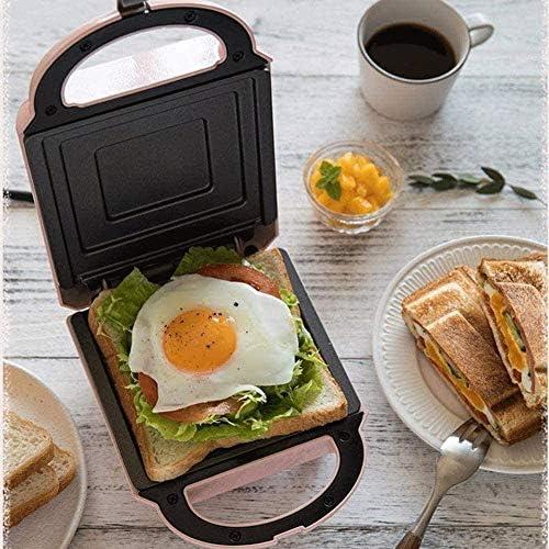 Gaufrier professionnel Mini Gaufrier, profond Plaque de cuisson automatique intelligente chauffage, amovible et lavable dans diverses configurations, non-adhérent Revêtement