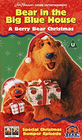 bear in the big blue house a berry bear christ reino unido - Bear In The Big Blue House A Berry Bear Christmas