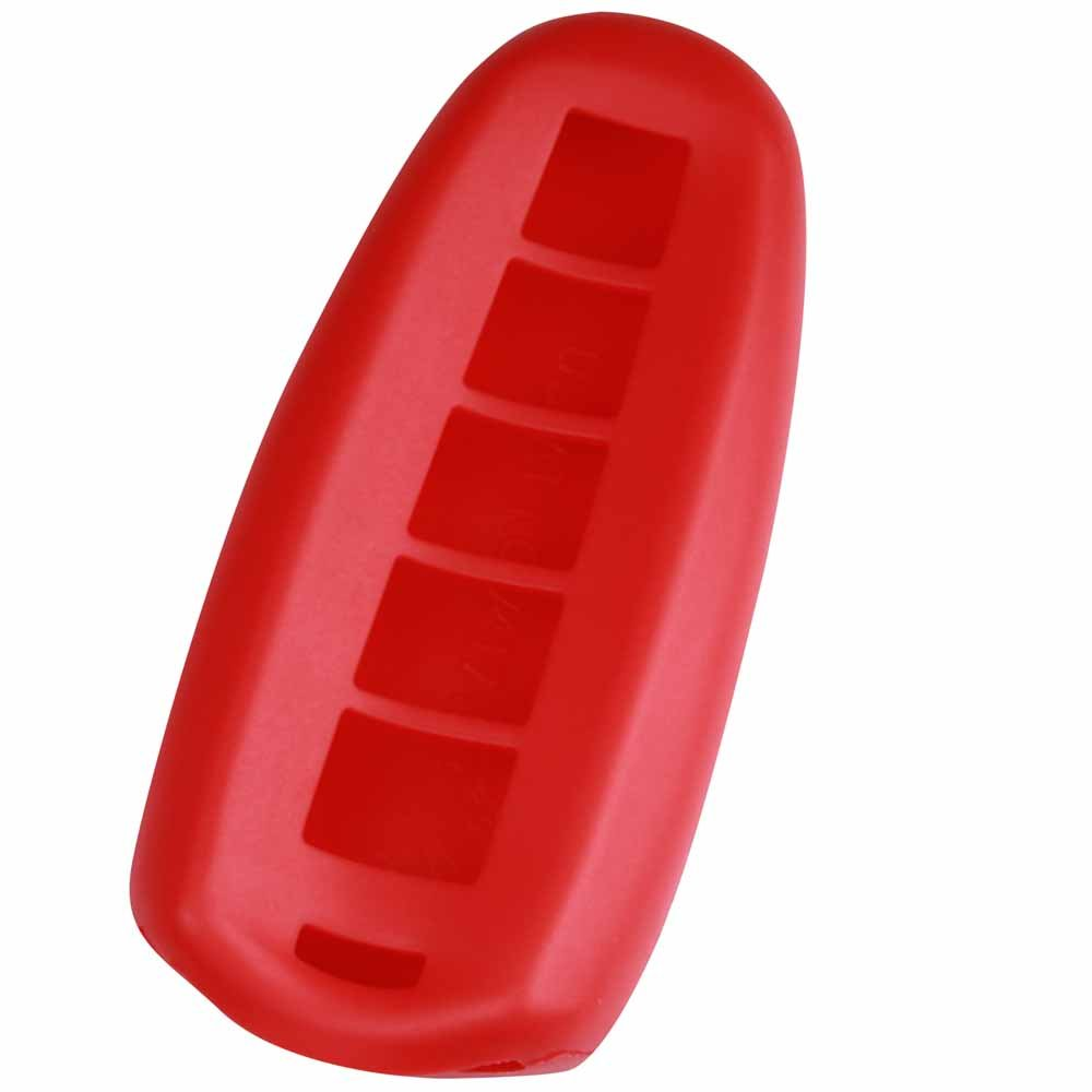 KEYGUARDZ Red Rubber Keyless Entry Remote Key Fob Skin Cover Protector LYSB00HVHVXMO-ELECTRNCS