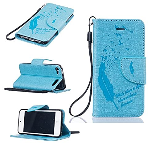 Apple iPod Touch 5, Touch 6 Wallet Case, SICAS (TM) [Slim] [Card Slot] Premium Pu Leather Wallet Case [Wristlet] [Drop Protection] Flip Protective Stand Cover For iPod Touch 5, iPod Touch 6 (Real Tree Camo Case For Ipod 5)