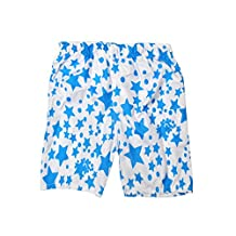 IvyFlair Kids' (Age 6-10) Printed Board Shorts Swim Trunks Beach Bottom