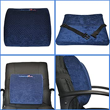 Amazoncom Lower Back Support Cushion for Chair Back Relief