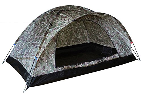 Military Depot Combat Army Ranger 2 Men Incredibly Lightweight Dome Unisex Tent Btp Camo Camouflage New