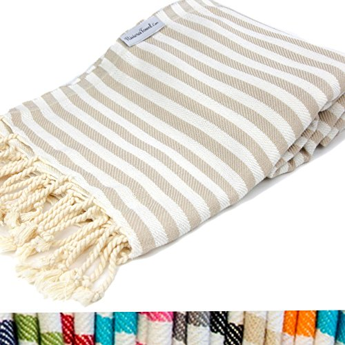 Striped Turkish Towel Swimming Peshtemal product image