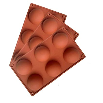 1 Pcs Small Round Balls Silicone Ice Cream Cake Mold For Chocolate Soap Ice Cube Dessert Bakeware Decorating Mould Baking Tools Home
