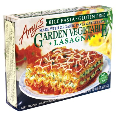 Amy's Lasagna Rice-Garden, Gluten-Free, 10.25-Ounce Boxes (Pack of 12)