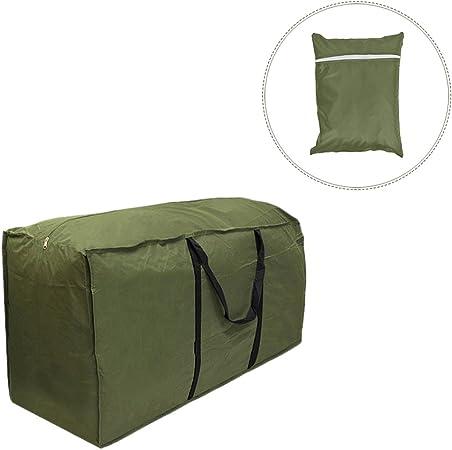 Gaeruite Bolsa para el almacenamiento de cojines de jardín - impermeable, muebles de jardín., poliéster, As Show, 173x76x51 cm: Amazon.es: Hogar