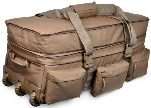 Sandpiper of California 2038-O-CB  Rolling Loadout Luggage X-Large Bag (Brown, 15.5x37x17-Inch) by Sandpiper of California