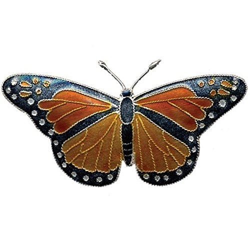 - Monarch Butterfly Cloisonne Pin