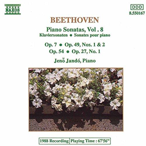 - Beethoven: Piano Sonatas Nos. 4, 13, 22 and 19-20, Op. 49