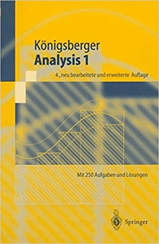 Analysis 1 (Springer-Lehrbuch)