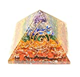 Orgone 7 Layered Natural Pyramid Reiki Healing