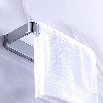 Sursy Borde Ancho Moderna De Las Toallas Toallas De Ángulo Recto De Cobre Anillo WC Estanterías Colgador De Baño Espejos: Amazon.es: Hogar