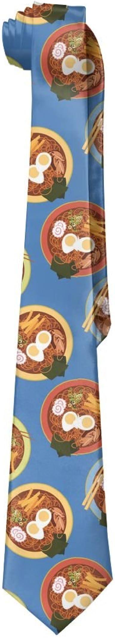 Mens Japanese Noodles Classic Casual Tie Necktie