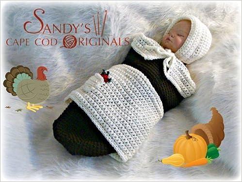 Read online Pilgrim Baby Girl Cocoon and Bonnet Crochet Pattern PDF, azw (Kindle), ePub, doc, mobi