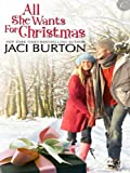 Front cover for the book All She Wants for Christmas by Jaci Burton