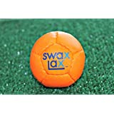 SwaxLax #0617 Soft Weighted Lacrosse Training Balls, Orange
