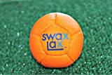 SWAX LAX 2-Pack Soft Weighted Lacrosse Training Balls Orange 0617-2P