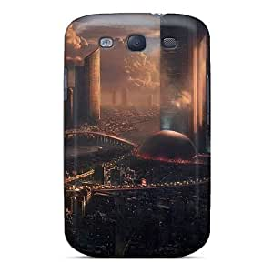 Fashion Tpu Case For Galaxy S3- Abstract 3d Defender Case Cover