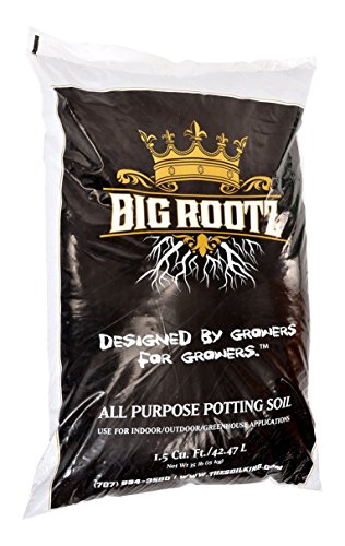 Big Rootz All Purpose Potting Soil pH Adjusted and Enriched to Maximize Root Growth