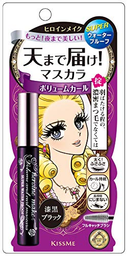 HEROINE MAKEVolume and Curl Mascara Super WP 01 Jet Black
