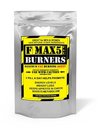 FMAX5 Supplements – Fat Burners 100 Capsules