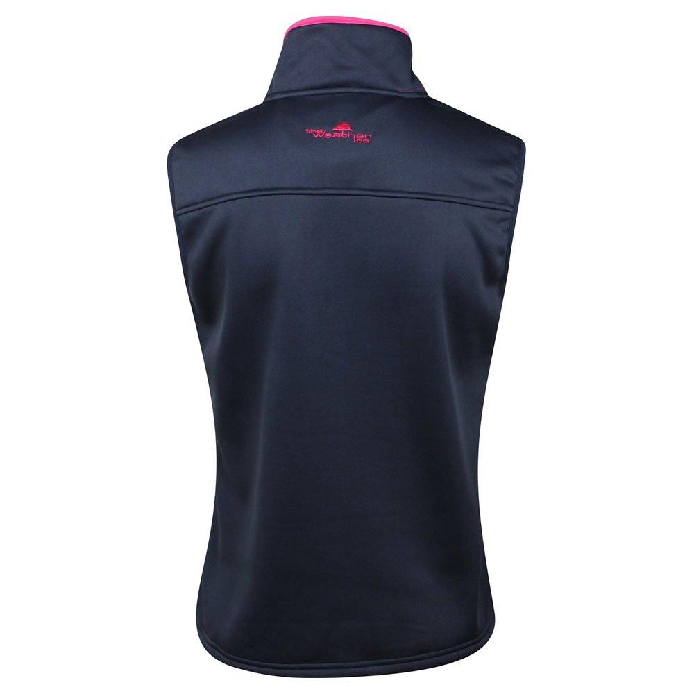 The Weather Apparel Co Poly Flex Golf Vest 2017 Women Navy/Pink Medium by The Weather Apparel Co (Image #2)