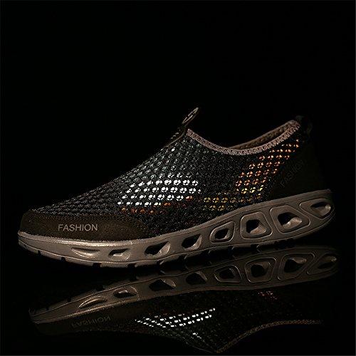 de Sneaker Hommes Casual Athlétique Marche Léger Black Femmes Sport Chaussures 072 Mode q11nS0xE