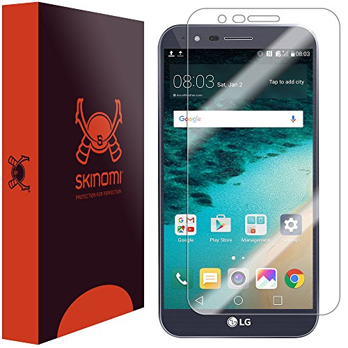 Price comparison product image LG Stylo 3 Plus Screen Protector , Skinomi TechSkin Full Coverage Screen Protector for LG Stylo 3 Plus Clear HD Anti-Bubble Film