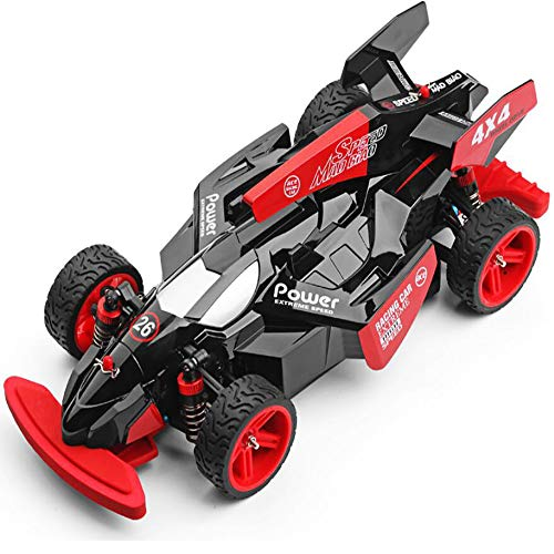 (Muzili- 4x4 Fast Race Remote Four-Wheel Drive Charging Toy F1 Formula car Drift high Speed 184012 Rally car Best)