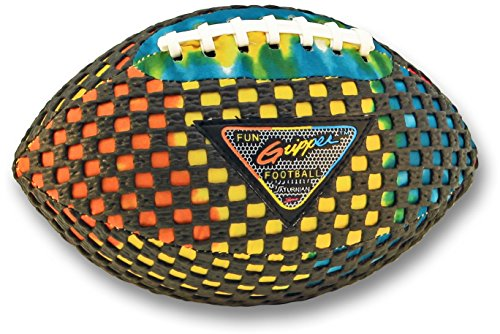 Fun Gripper Football (FUN GRIPPER (TD) Tie-Dye (Pee Wee) 8.5 Football By: Saturnian I P.E. Supplier)