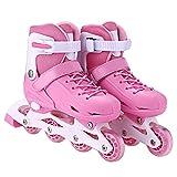 Kindsells Rollerblades Inline Skates, Children Fashion Triple Protection Switchable Pulley Adjustable Size Roller Skates