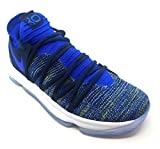 Nike Mens Kevin Durant KD 10 Basketball Shoes Racer Blue/College Navy Size 11