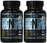 N (R) Niagen Nicotinamide Riboside - 2 Pack (60 capsules each)