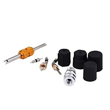 A//C System Valve Core and Cap Kit Schrader Remover  MT2908