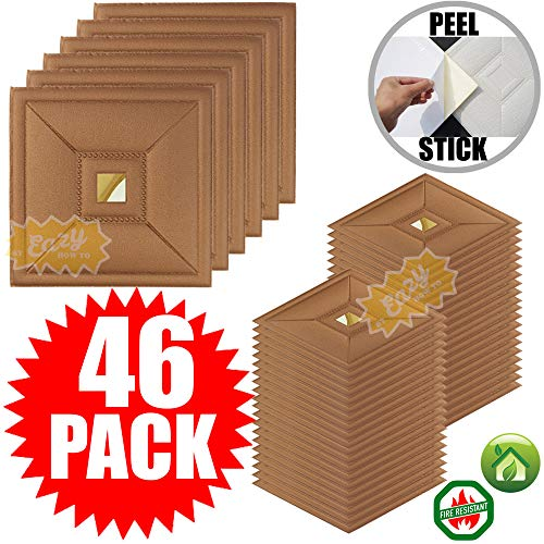 - Eazy How To Peel and Stick Ceiling Tiles 46 Pieces 12