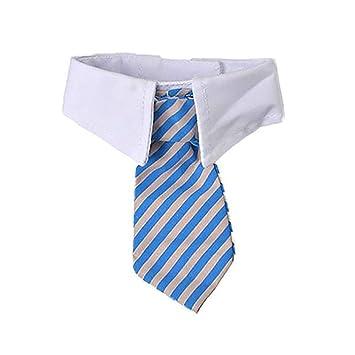 QTDCL Tienda de Mascotas Gentleman Pet Dog Tie Stripe Cat Corbata ...
