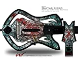 Tissue Decal Style Skin - fits Warriors Of Rock Guitar Hero Guitar (GUITAR NOT INCLUDED)