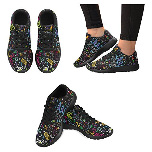 c00e761a5c63 InterestPrint Women's Jogging Running Sneaker Lightweight Go Easy ...
