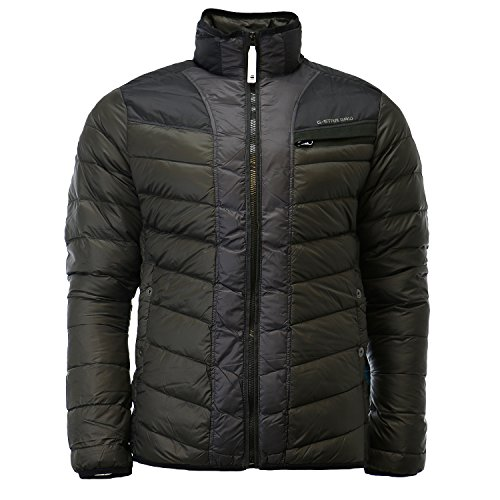 G-Star Raw Men's Attacc Down Color Block Jacket, Raven, for sale  Delivered anywhere in USA