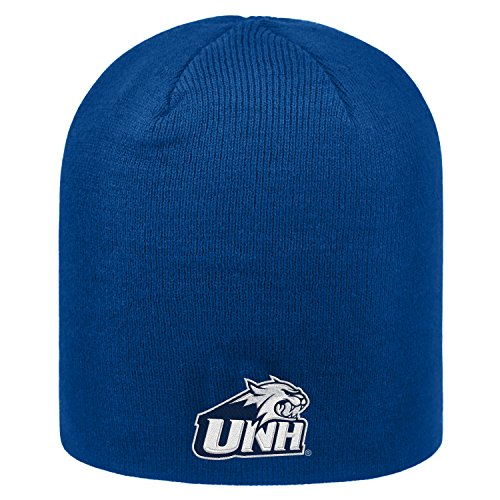 Top of the World New Hampshire Wildcats Official NCAA Uncuffed Knit Classic Beanie Stocking Stretch Sock Hat Cap 172446 (New Of University Hampshire Merchandise)