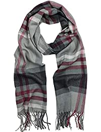Scottish Tartan Plaid Cashmere Feel Winter Warm Scarf Unisex