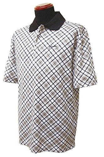 Founders Club(ファウンダース) メンズ タータンチェック柄 半袖ポロシャツ 2017年春夏モデル  FC4228S