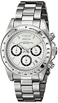 "Invicta Men's 9211 ""Speedway Collection"" Stainless Steel Watch"