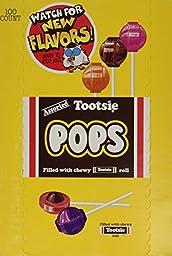 Tootsie Pops Assorted - 100 ct.