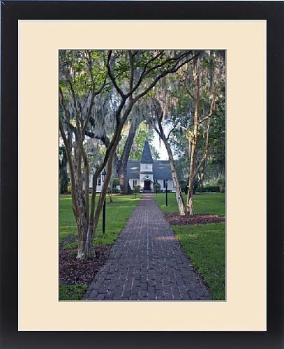 Framed Print of USA, GA, St. Simmons Island, Christ Church by Fine Art Storehouse